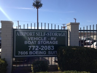 Airport Self Storage Parking Rentals